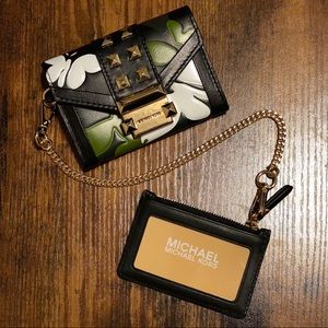 NWT Michael Kors Butterfly Camo Whitney Wallet